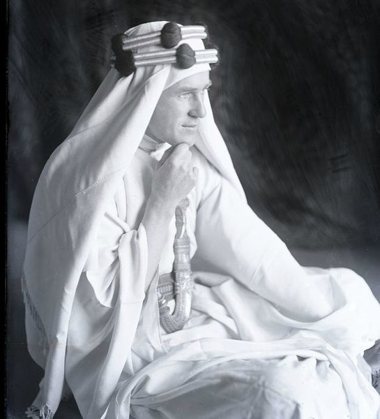 ملف:T.E. Lawrence, The dreamer whose dreams came true.jpg