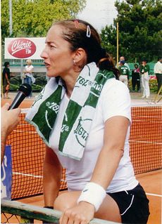 Sandrine Testud French tennis player