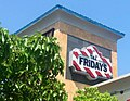 TGI Fridays Restaurant 6 2014 Waterbury CT. TGI Friday's Logo Sign pic by Mike Mozart of TheToyChannel and JeepersMedia on YouTube. -TGIFridays -Fridays -TGIFridaysRestaurant -TGIFridaysSign -TGIFridaysLogo -TGI -Fridays (14349005354).jpg