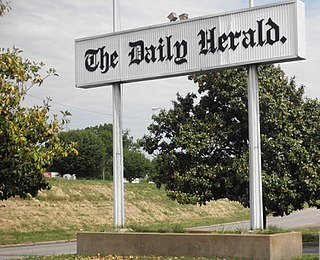 <i>Daily Herald</i> (Columbia, Tennessee) daily newspaper in Columbia, Tennessee