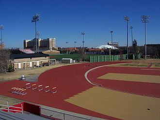 Texas Tech Red Raiders and Lady Raiders - R.P. Fuller Track