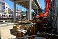 Takenotsuka Station new station construction - a - July 21 2015.jpg