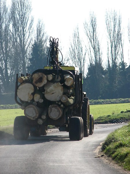 File:Taking home some firewood - geograph.org.uk - 683981.jpg