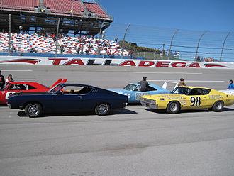 Ford Torino Talladega - Image: Talladegas at Talladega in 2009