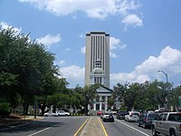 Tallahassee FL old and new capitol01.jpg