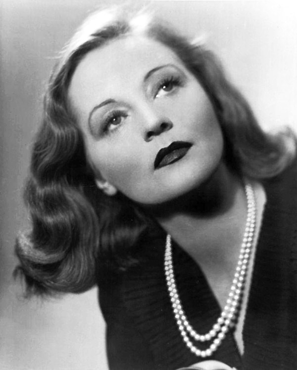 Photo Tallulah Bankhead via Wikidata