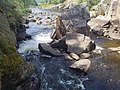 Talubi Falls in Nopiming Provincial Park in Manitoba, Canada. (43720705834).jpg