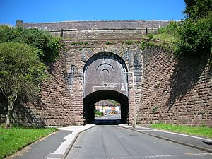 Tame Valley Canal - Image: Tame Valley Canal Spouthouse Lane Aqueduct