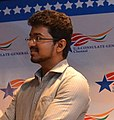 Tamil Film actor Vijay Celebrating World Environment Day at the U.S. Consulate Chennai 19 (cropped).jpg