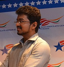 Vijay Celebrating World Environment Day at the U.S. Consulate in Chennai