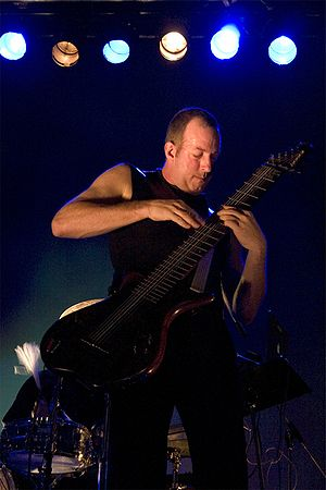 Trey Gunn - Trey Gunn playing Warr Guitar with KTU at Tampere Jazz Happening 2005