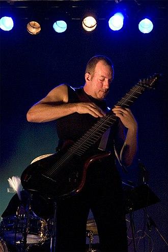 Trey Gunn - Trey Gunn playing Warr Guitar with KTU at Tampere Jazz Happening 2005