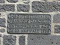 Tanavelle église clocher inscription.jpg