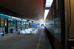 Tarvisio Boscoverde railway station - Platform