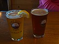 Tasting beer in Port Hole Cafe, Gold Beach (4332557595).jpg