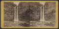 Taughannock Fall, from the lower ravine, at sunrise, by E. & H.T. Anthony (Firm).png