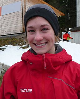 Taylor Henrich Canadian ski jumper and nordic combined skier