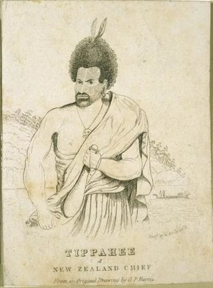 Te Pahi - Te Pahi, Maori Chief by George Prideaux Robert Harris (who died in 1810)