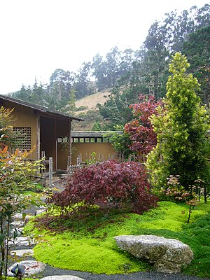 San Francisco Zen Center - Green Gulch tea garden
