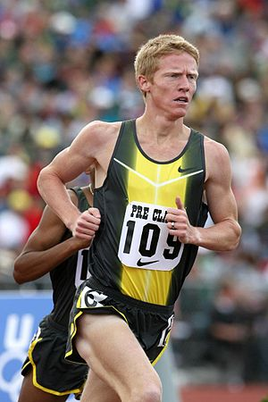 Matt Tegenkamp - Tegenkamp at the 2007 Prefontaine Classic