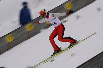 Ski jumping - Telemark landing