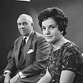 Televisieopname van Anneke Beekman en Louis Frequin, Bestanddeelnr 913-2479.jpg