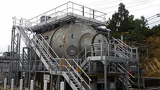 Synchronous condenser - Image: Templestowe Synchronous Condenser 5