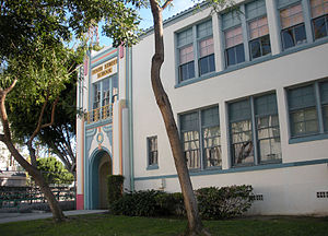 English: Tenth Street School, Los Angeles CA E...