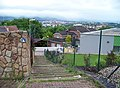 Teplice, Nová cesta 3146 a výhled na město.jpg