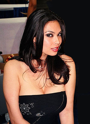 Tera Patrick, American porn star. Taken at the...