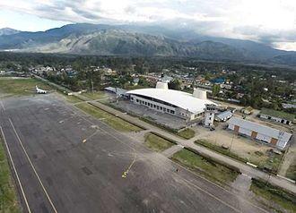 Wamena Airport - Image: Terminal belakang samping kanan 1