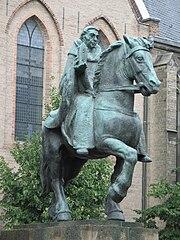 equestrian statue of Willibrord