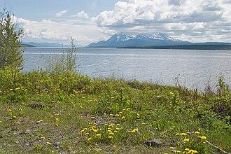 Teslin Lake - Image: Teslin Lake
