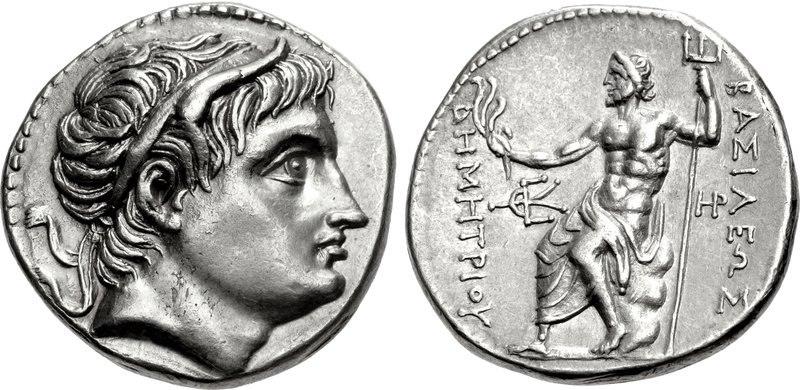 Tetradrachm, 291-290, Demetrius Poliorketes - Macedonia