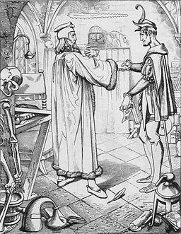 Teufelspakt Faust-Mephisto, Julius Nisle