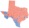 Texas Presidential Election Results by County, 2008.svg