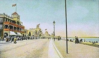 Revere Beach - Revere Beach Blvd. in c. 1910