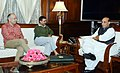 The Chief Minister of Delhi, Shri Arvind Kejriwal calling on the Union Home Minister, Shri Rajnath Singh, in New Delhi on February 26, 2015.jpg