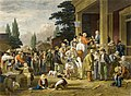 The County Election by George Caleb Bingham, 1854, engraving.jpg