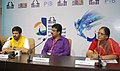 The Director of BAJRANGI BHAIJAAN, Kabir Khan and the Director of PRIYAMANASAM, Vinod Mankara addressing a press conference, at the 46th International Film Festival of India (IFFI-2015), in Panaji, Goa on November 22, 2015.jpg