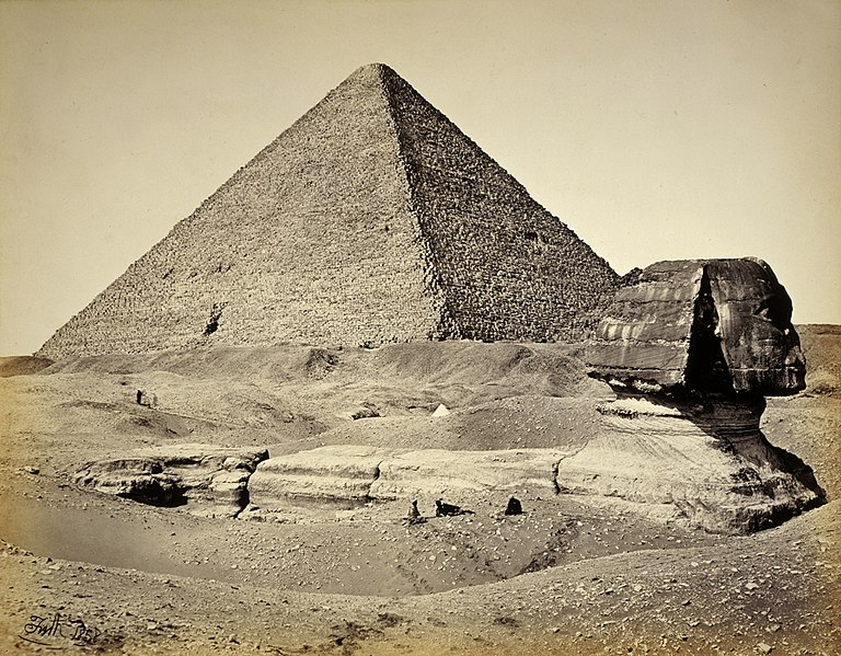 File:The Great Pyramid and the Sphinx.jpg