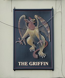 The Griffin, Griffin Street, Blackburn, Sign - geograph.org.uk - 1765260