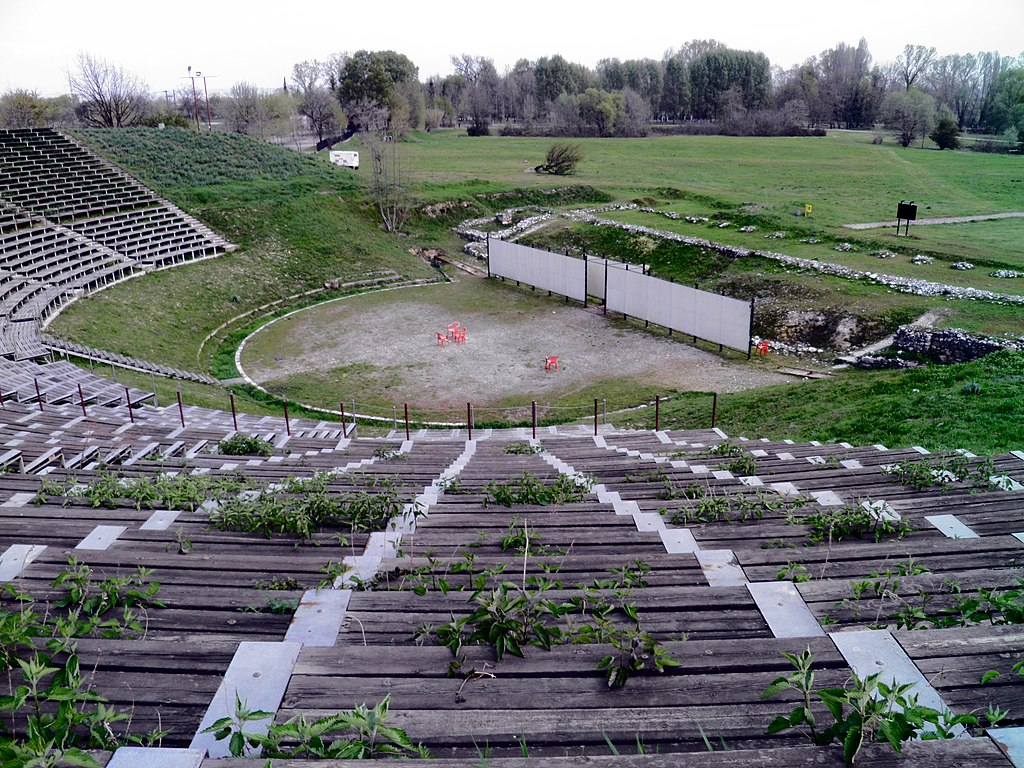 The Hellenistic Theatre, Ancient Dion (6930195434)