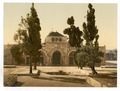The Mosque of El-Aksa, Jerusalem, Holy Land-LCCN2002725010.tif