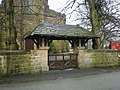 The Parish Church of St Mary the Virgin, Mellor, Lychgate - geograph.org.uk - 1074459.jpg