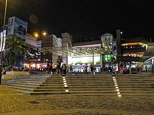 The Peak Galleria - The Peak Galleria entrance