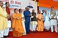 The President, Shri Ram Nath Kovind launching a nationwide sanitation campaign, 'Swachhta hi Sewa', at Ishwariganj village in Kanpur, Uttar Pradesh.jpg