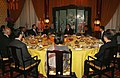 The Prime Minister, Dr. Manmohan Singh with the Chinese Premier, Mr. Wen Jiabao, at a private dinner, in Beijing, China on January 13, 2008 (1).jpg