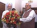 The Prime Minister Dr. Manmohan Singh with the former Prime Minister Shri Atal Bihari Vajpayee in New Delhi on May 24, 2004.jpg