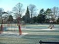 The Roberts Recreation Ground in the frost - geograph.org.uk - 1096929.jpg